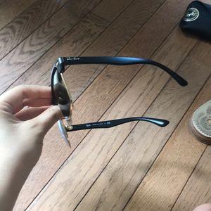 Ray-Ban Accessories - NWOT ray ban club master sunglasses black